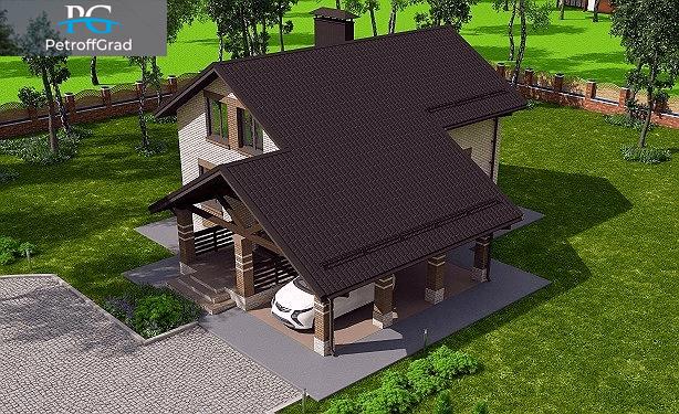 фото готового дома